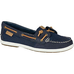 Sperry Coil Ivy Perforated Womens Shoes, Navy, 256