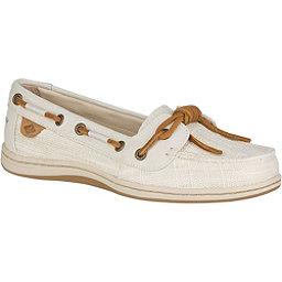 Sperry Barrelfish Heavy Linen Womens Shoes, Ivory, 256