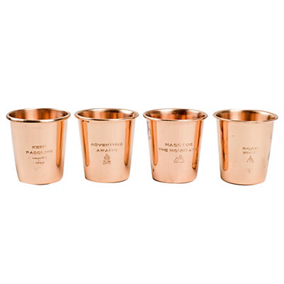 United By Blue Copper Shot Glass Set 2017, , viewer
