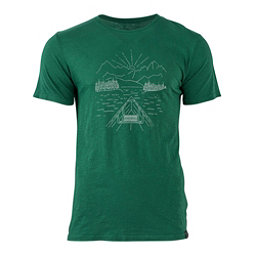 United By Blue Canoe Mens T-Shirt, Forest, 256