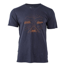 United By Blue Canoe Mens T-Shirt, Navy, 256