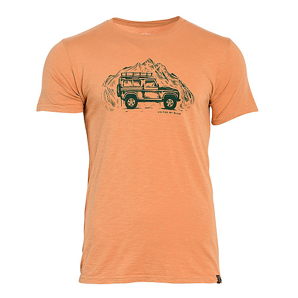 United By Blue Adventure Mobile Mens T-Shirt, Oak, 600