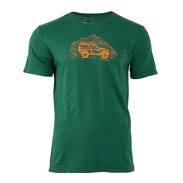 United By Blue Adventure Mobile Mens T-Shirt, Forest, 600