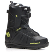 Northwave Hover Spin Snowboard Boots, Black, medium
