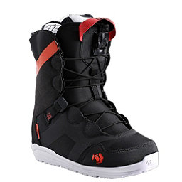Northwave Opal Womens Snowboard Boots 2017, Black, 256