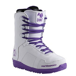 Northwave Dime Womens Snowboard Boots 2017, White, 256