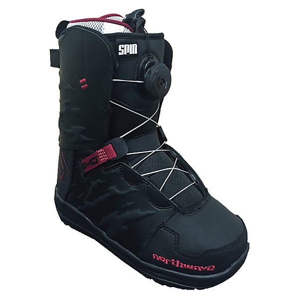 Northwave Helix Spin Womens Snowboard Boots, Black, 600