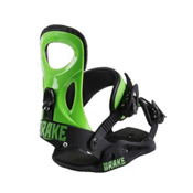 Drake King Snowboard Bindings 2017, Green Fluo-Black, medium
