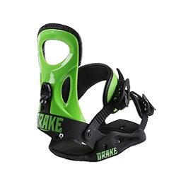 Drake King Snowboard Bindings, Green Fluo-Black, 256