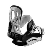 Drake Fifty Snowboard Bindings 2017, White, medium