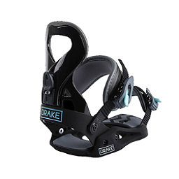 Drake Queen Womens Snowboard Bindings, Black, 256
