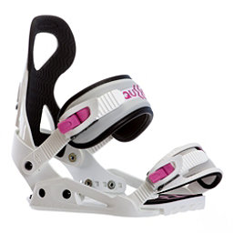 Drake Queen Womens Snowboard Bindings, White, 256