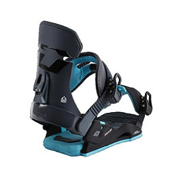 Drake DL Womens Snowboard Bindings, Black, 256