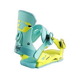 Drake DL Womens Snowboard Bindings, Fresh Lime, 256