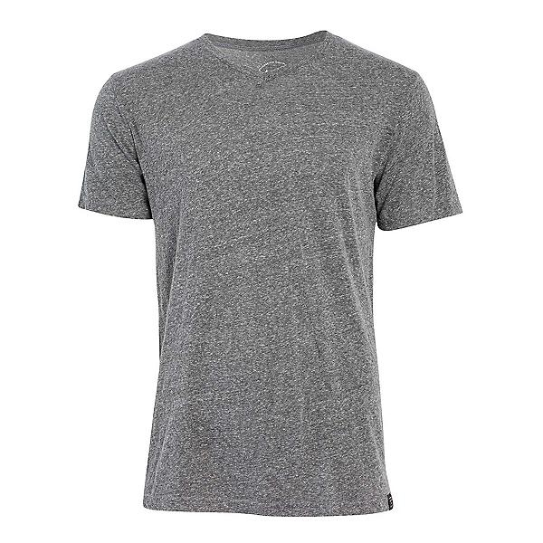 United By Blue Standard V-Neck Mens T-Shirt, Grey, 600