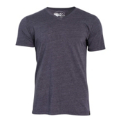 United By Blue Standard V-Neck Mens T-Shirt, Navy, medium