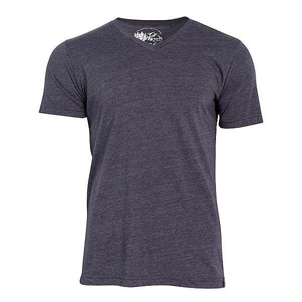 United By Blue Standard V-Neck Mens T-Shirt, Navy, 600