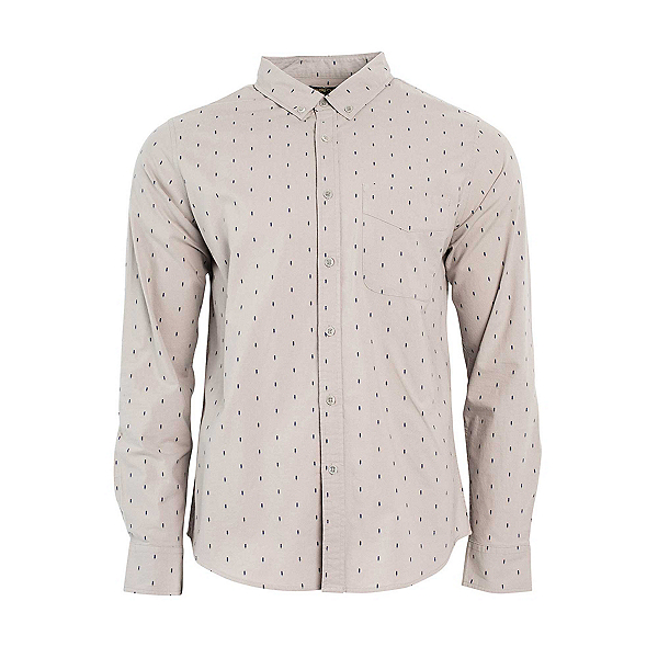 United By Blue Pine Grove Mens Shirt, Grey, 600