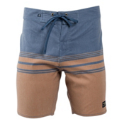 United By Blue Backwater Mens Board Shorts, Tan, medium