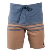 United By Blue Backwater Mens Boardshorts, Tan, medium