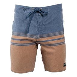 United By Blue Backwater Mens Board Shorts, Tan, 256
