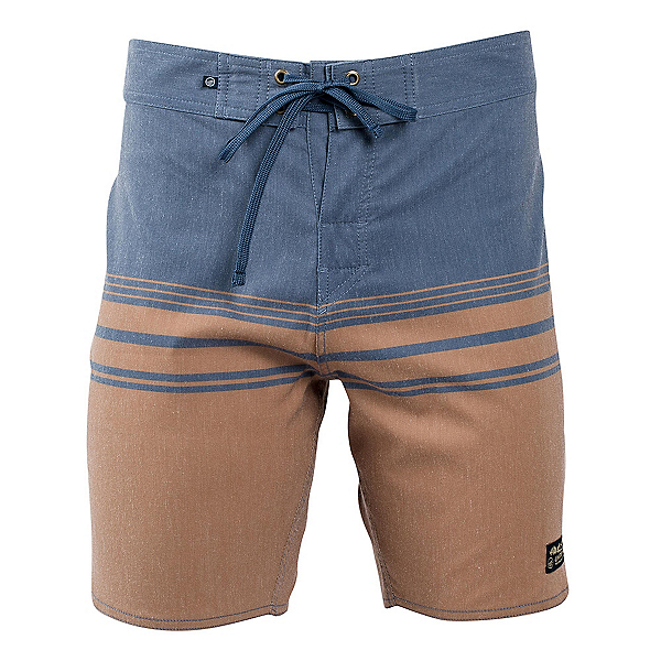 United By Blue Backwater Mens Board Shorts, Tan, 600
