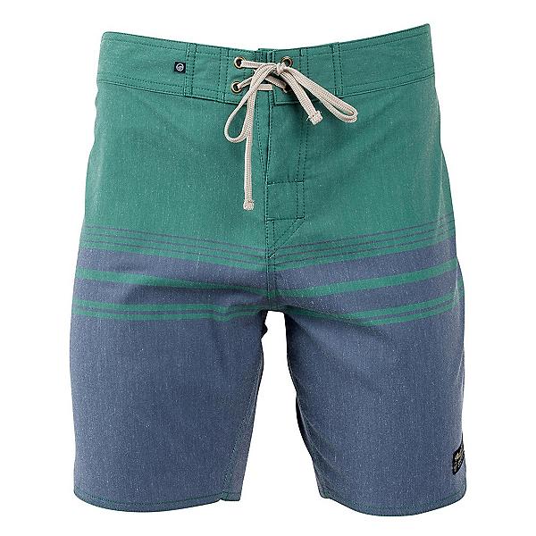 United By Blue Backwater Mens Board Shorts, Navy, 600