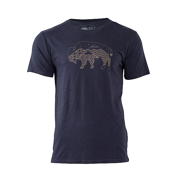 United By Blue Starry Bison Mens T-Shirt, , 600