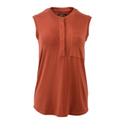 United By Blue Avalon Tank Womens Shirt, Rust, medium