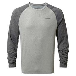Craghoppers Nat Geo Nosilife Bayame Long Sleeve Mens Shirt, Black Pepper Marl-Soft Grey Ma, 256