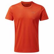 Craghoppers Nosilife Active Mens T-Shirt, Spiced Orange, medium
