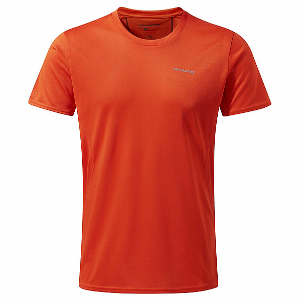Craghoppers Nosilife Active Mens T-Shirt, Spiced Orange, 600