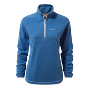 Craghoppers Hazelton Half Zip Womens Shirt, Bluebell, medium