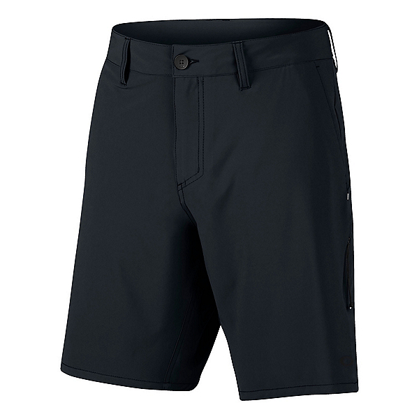 Oakley Icon Chino Mens Hybrid Shorts, Blackout, 600