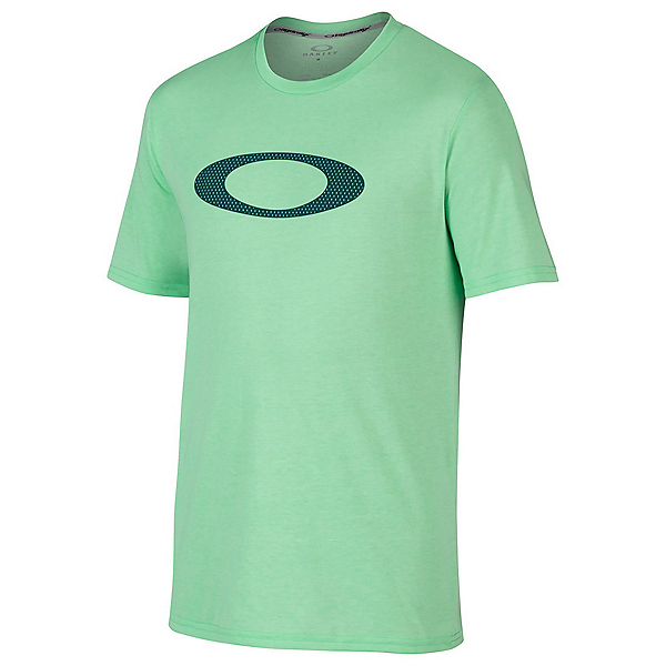 Oakley O-Mesh Ellipse Mens T-Shirt, Viper Light Heather, 600