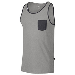 Oakley 50/50 Pocket Tank Top, Athletic Heather Grey, 256