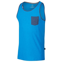 Oakley 50/50 Pocket Tank Top, Ozone Light Heather, 256