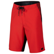 Oakley Sidetrack 21 Mens Board Shorts, Red Line, medium