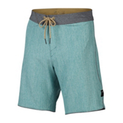 Oakley Single Fin 19 Mens Board Shorts, Tidepool, medium