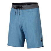 Oakley Single Fin 19 Mens Board Shorts, Ozone, medium