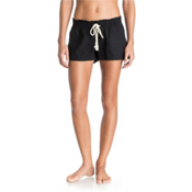 Roxy Oceanside Womens Shorts, True Black, medium