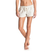 Roxy Oceanside Womens Shorts, Stone, medium