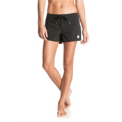 Roxy To Dye 2 Womens Board Shorts, True Black, medium