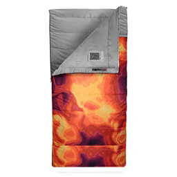 The North Face Homestead Twin 20/-7 Sleeping Bag (Previous Season), Tibetan Orange Heat Map Print-, 256