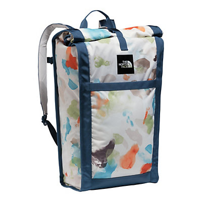 The North Face Homestead Waterproof Roadsoda Pack 2017, Vintage White Sparse Mo Print-, viewer