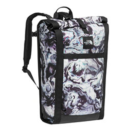 The North Face Homestead Waterproof Roadsoda Pack 2017, TNF Black Iridescent Marble Pr, 256