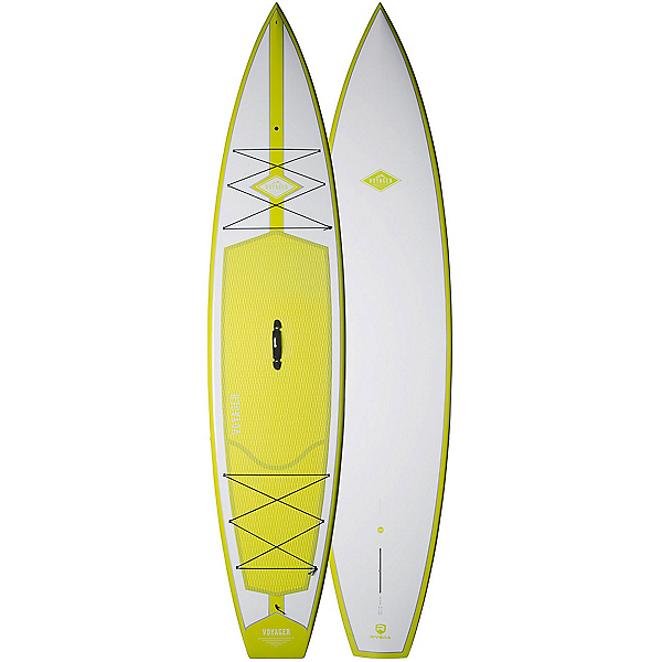 Riviera Paddlesurf Voyager 12'6 Touring Stand Up Paddleboard 2017, Lime, 600