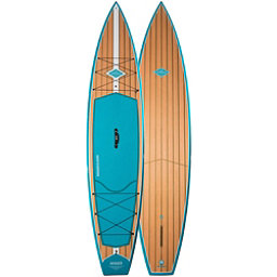 Riviera Paddlesurf Voyager Classic 12'6 Touring Stand Up Paddleboard 2017, Turquoise, 256