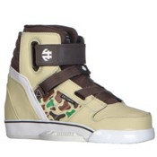Humanoid Wakeboards Howl Boot Wakeboard Bindings, Desert Camo, medium