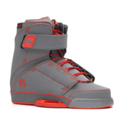 Humanoid Wake Odyssey Wakeboard Bindings, Grey-Red, medium